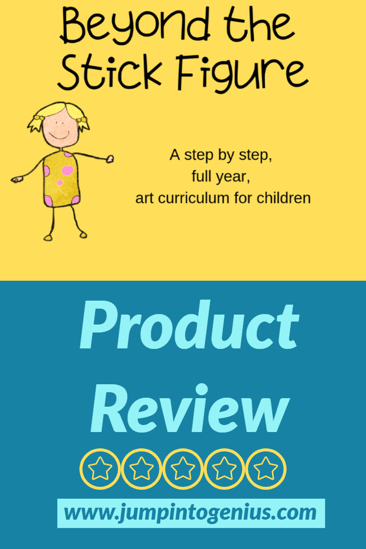 Beyond The Stick Figure, Full Year Art Curriculum, Product Review by Jump Into Genius