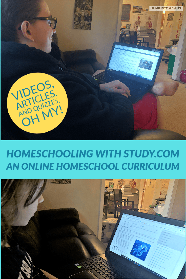 Study.com has a complete online homeschool curriculum for grades 3-12.