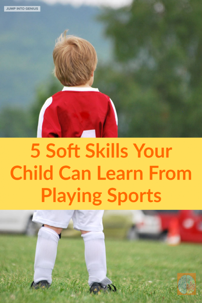 5 soft skills your child can learn from playing sports.