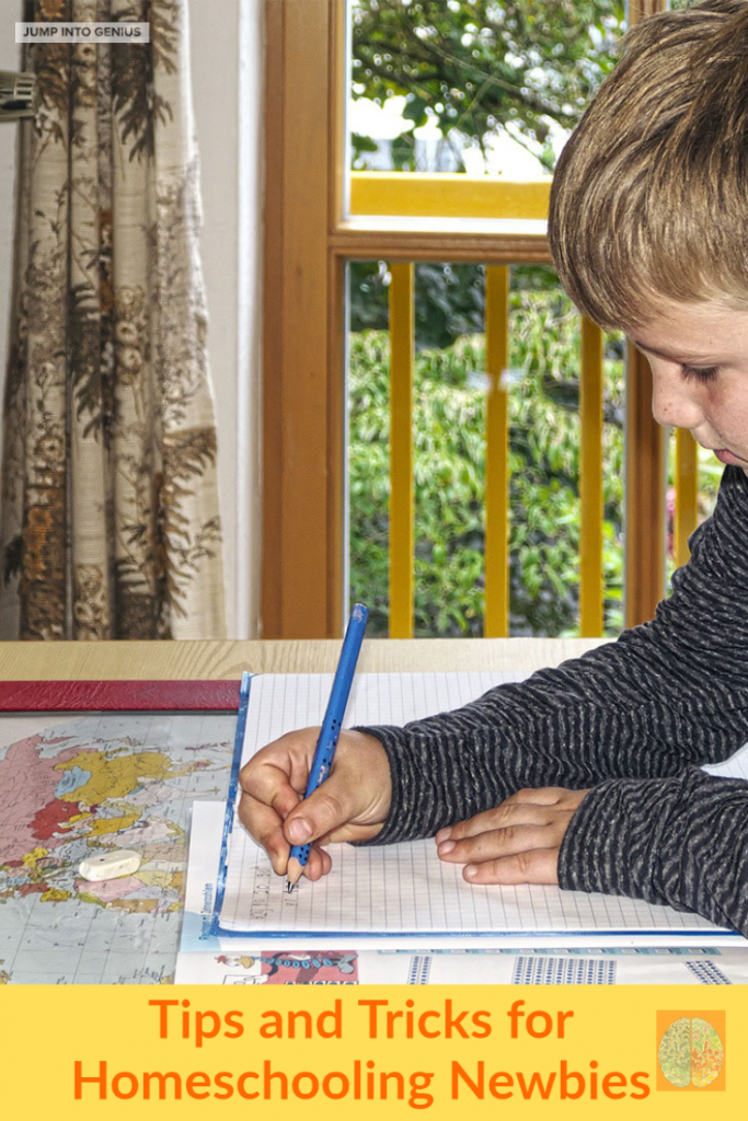 Tips and Tricks for Homeschooling Newbies